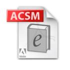 acsm 拡張 子