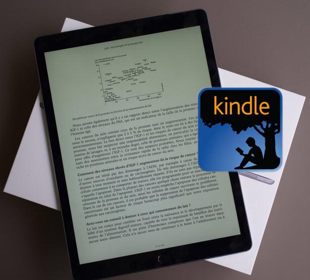 iPad ProでKindle本を読む方法